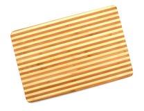 Une planche à découper en bambou images libres de droits