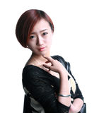Une plus jeune fille de la Chine Photos stock
