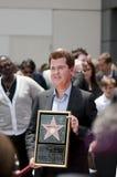 Une plus pleine Hollywood promenade de Simon de cérémonie d'étoile de renommée Photographie stock libre de droits
