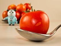 Une pomme par jour maintient des médecins partis ! Photo libre de droits