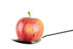 Une pomme par jour maintient le docteur parti Images libres de droits