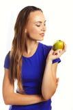 Une pomme par jour maintient le docteur parti Photographie stock