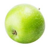 Une pomme verte d'isolement sur un fond blanc Photo libre de droits