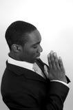 Une prière pour la réussite photos stock