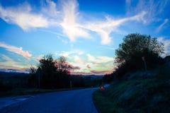 Une promenade dans les montagnes image libre de droits