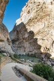 Une promenade de canyon le long d'EL Camino Del Rey Photo libre de droits