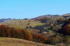Une promenade sur les collines Photos stock