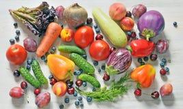 Une récolte riche de l'agriculture de ferme Photo stock