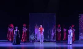 """Une récompense entre le  de shelter†de dance""""No d'idéal et de ` s de réalité-Huang Mingliang Photo stock"""