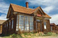 Une résidence préservée en ville fantôme Bodie image libre de droits