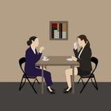 Une réunion Image stock