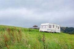 Une remorque de camping Image libre de droits