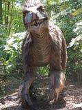 Une reproduction de l'Utah Raptor images libres de droits