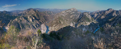 Une River Valley Image stock