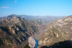 Une River Valley Images stock
