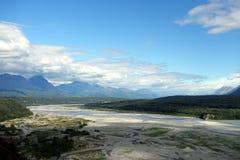 Une rivière en Alaska Photographie stock