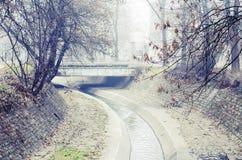 Une rivière silencieuse Image libre de droits