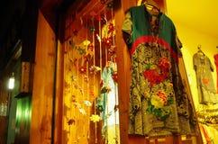 Une robe chinoise Images libres de droits