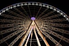 Une roue de ferris parisienne Photos stock