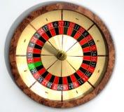 Dessus de fin de roue de roulette images libres de droits