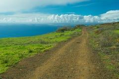 Une route à un phare de Ponto font Pargo Images stock