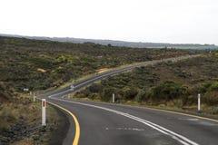Une route de rotation Photos libres de droits