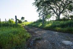 Une route principale Images libres de droits
