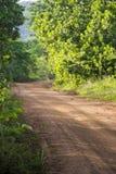 Une route rurale untarred Photographie stock