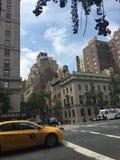 Une rue à New York City Photographie stock libre de droits