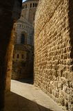 Une rue dans la vieille ville Jérusalem Images libres de droits