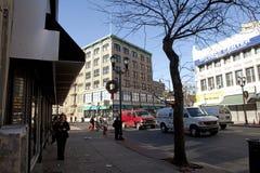 Une rue dans le débardeur Image libre de droits
