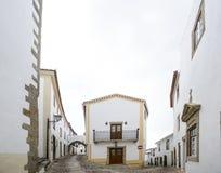 Une rue dans le marvao, Portugal image libre de droits