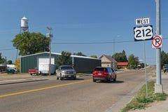 Une rue de la foi, le Dakota du Sud photo libre de droits