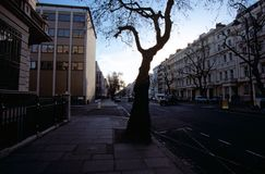 Une rue de Londres Photos stock