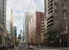 Une rue diverse de Toronto Images stock