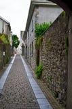 Une rue seule Photo libre de droits