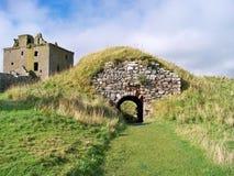 Une ruine d'un château Image libre de droits