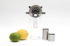 Kit d'offre de barre de cocktail Photos stock