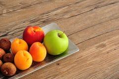 Une série de fruits Photo stock