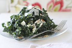 Salade toscane de chou frisé Photographie stock libre de droits