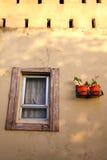 Une salle avec une vue Photographie stock libre de droits