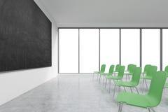 Une salle de classe ou une salle de présentation à une université ou à un bureau moderne de fantaisie illustration stock