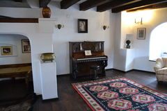 Une salle historique Image libre de droits