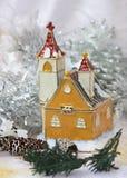 Une scène de l'hiver Photographie stock