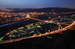 Une scène de nuit Photographie stock libre de droits