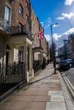 Une scène de rue à Londres Photographie stock libre de droits
