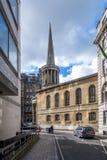 Une scène de rue à Londres image stock