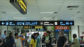 Une scène pour l'aéroport de la Thaïlande phuket Photos stock