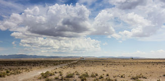 Une scène très grande de rangée au Nouveau Mexique Photos stock