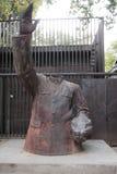 Une sculpture dans la zone de 798 arts Photo libre de droits
